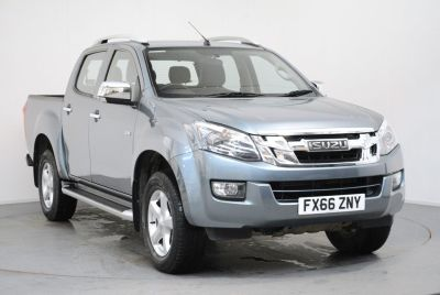 Isuzu D-max 1.3 2.5TD Utah Double Cab 4x4 Auto Pick Up Diesel Mineral Grey at Duckworth Isuzu Boston
